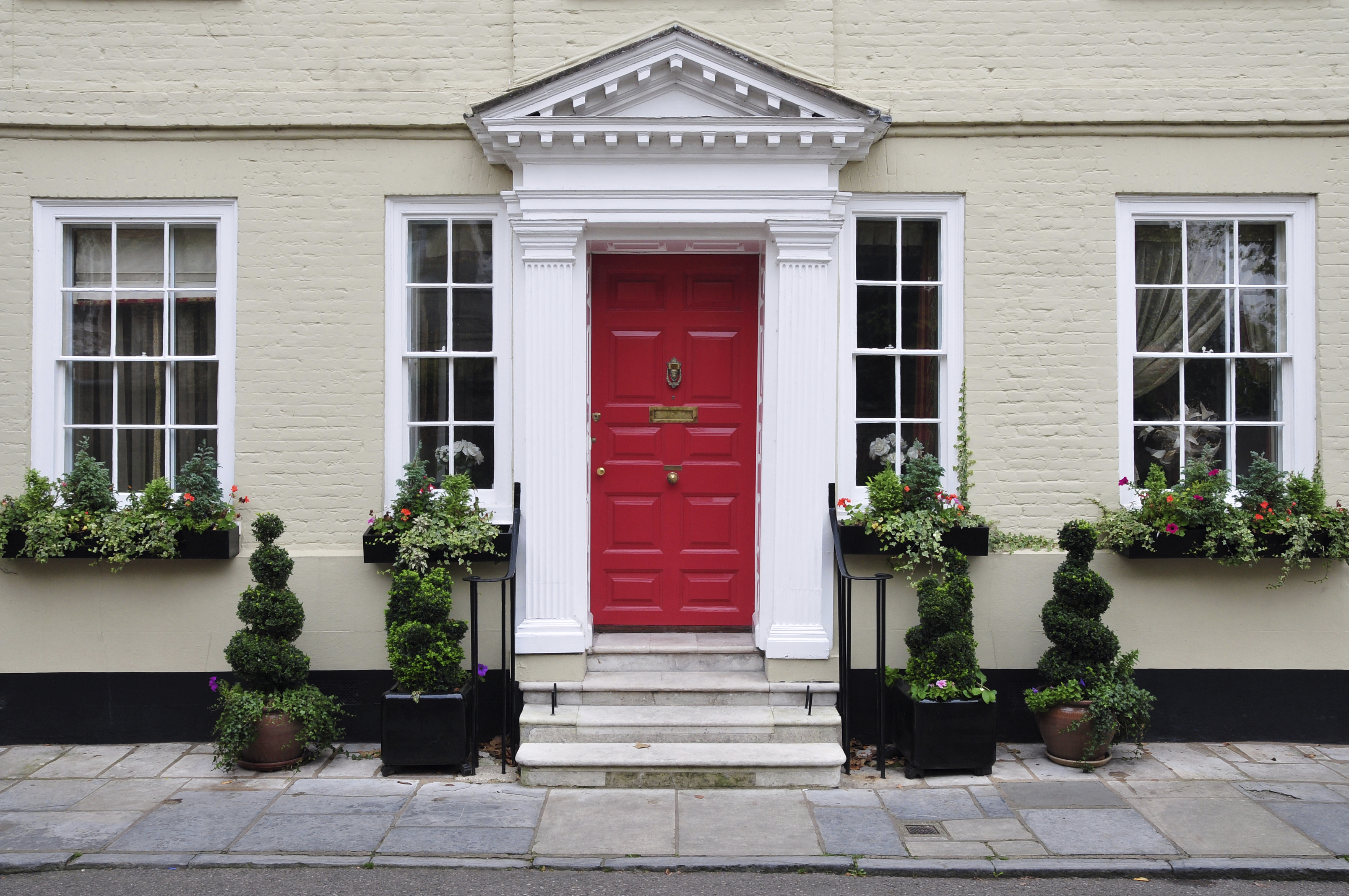 Front Door Entries Georgetown Row House